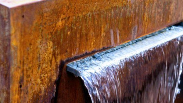 Cascadi Cortenstaal Watervalelementen