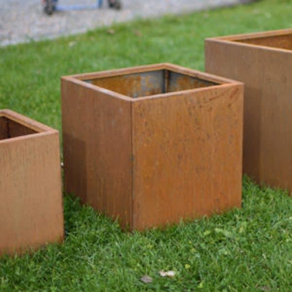 Quadra vierkante plantenbakken