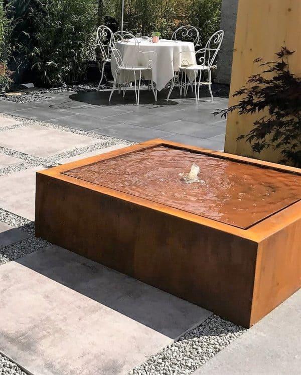 Taula Cortenstaal Watertafels