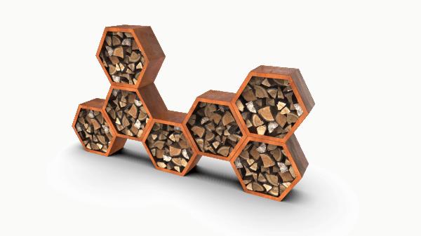 Woodshedwood HoneycombWood